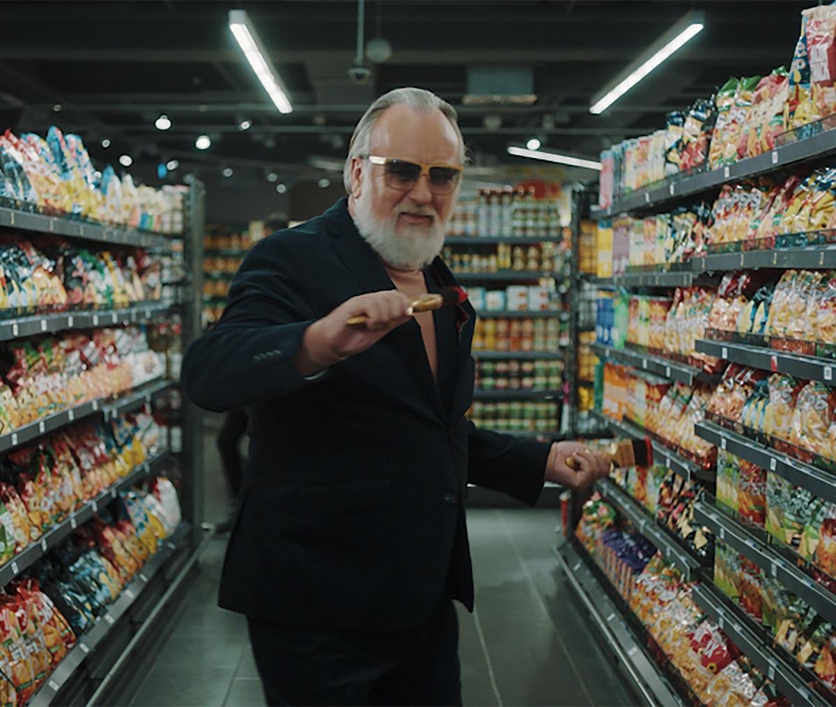 Freidrich Liechtenstein im Edeka Werbespot