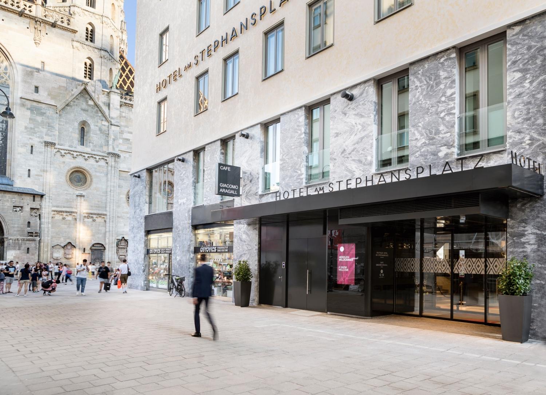 Hotel am Stephansplatz von außen