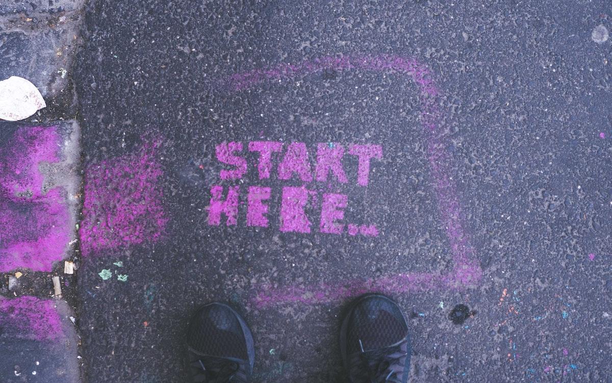 Grafitti zum Anfangen