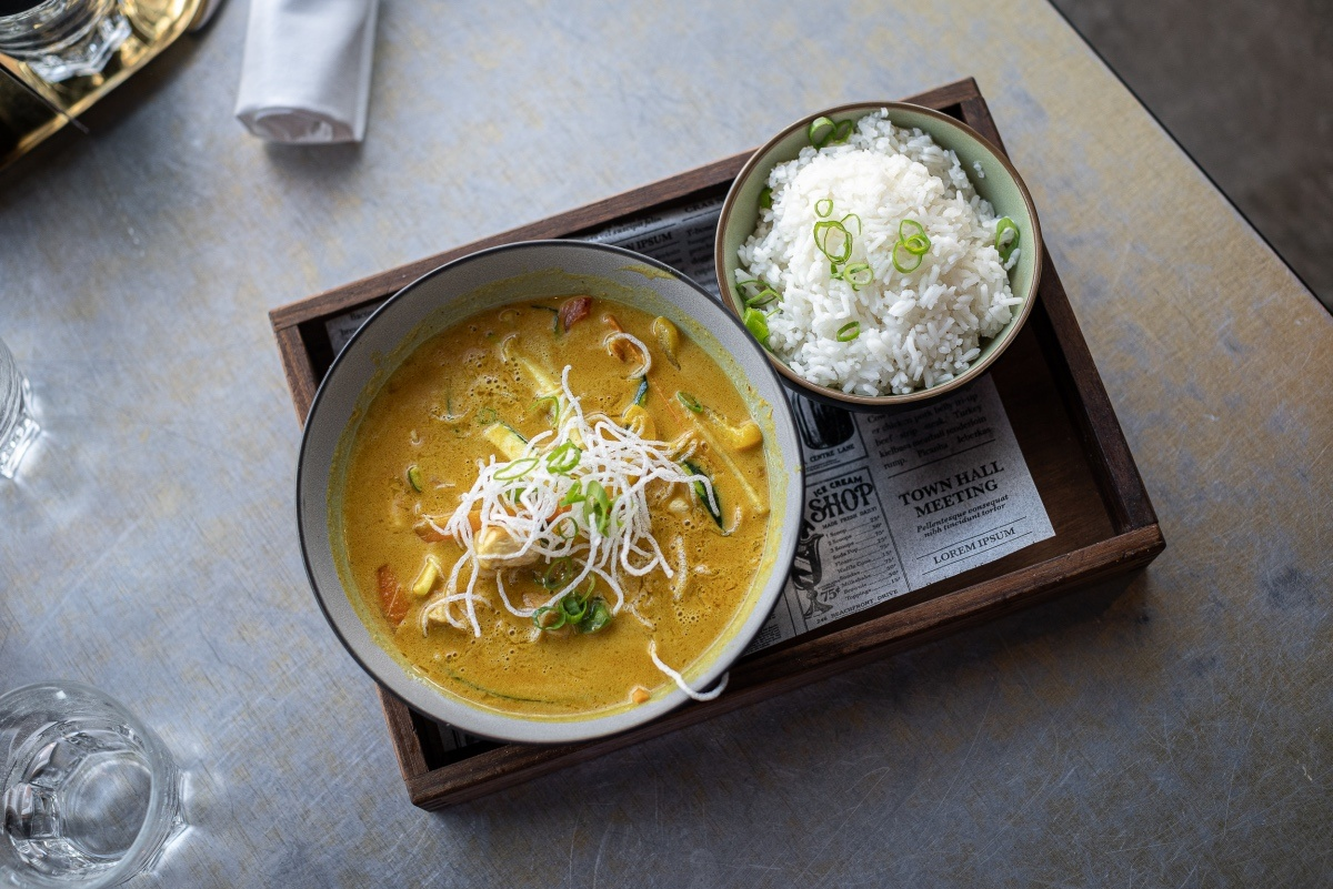 curry mit reis
